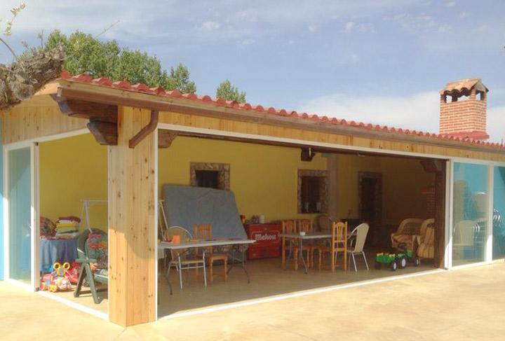 Cerramientos de terraza y cubiertas para piscinas en - Cortinas valladolid ...