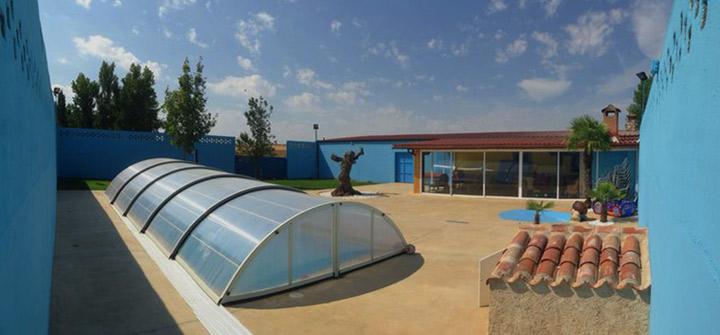 cerramientos de terraza y cubiertas para piscinas en